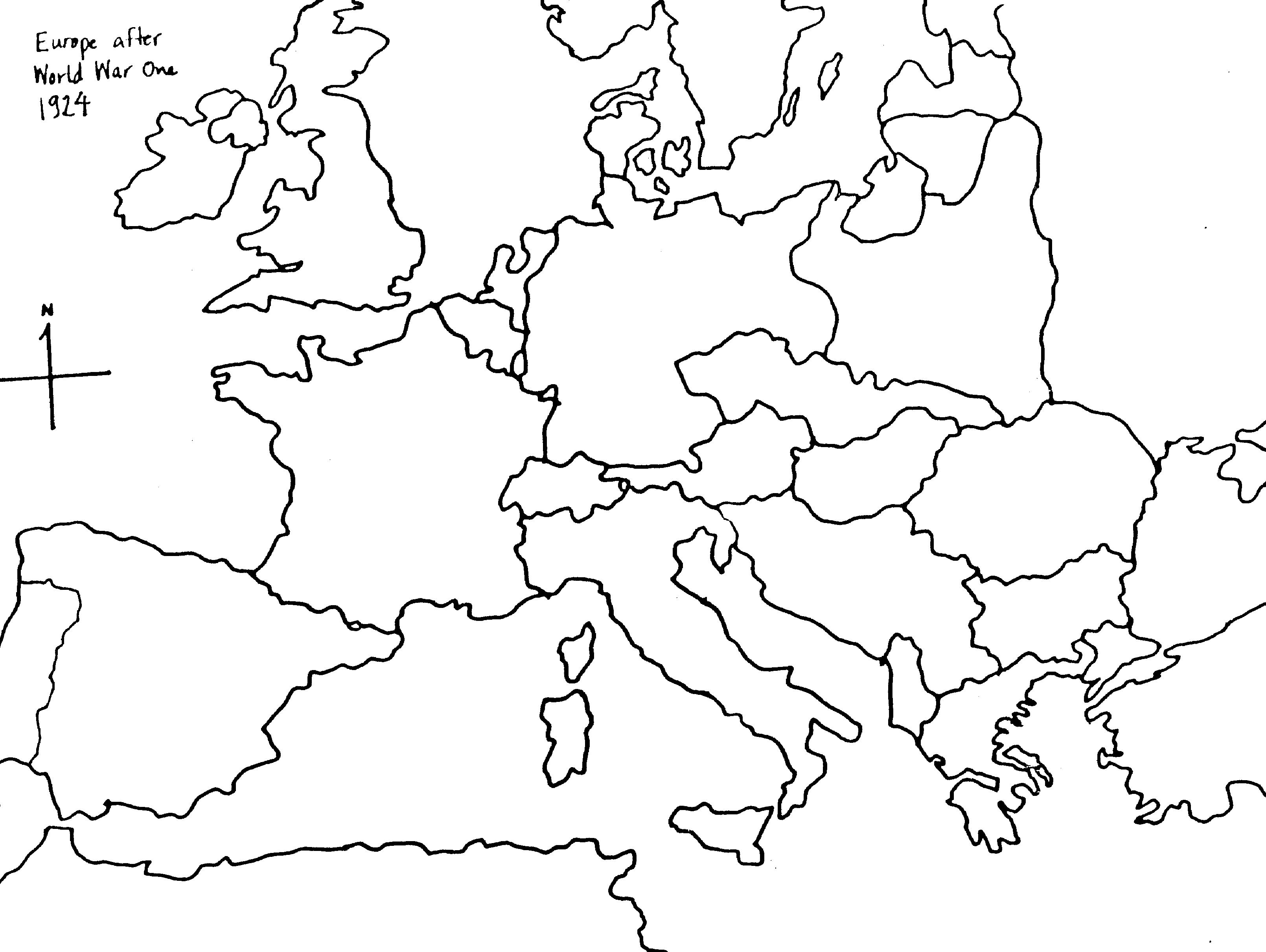 European History Worksheet Along With Blank Map Of Eastern Europe And ...